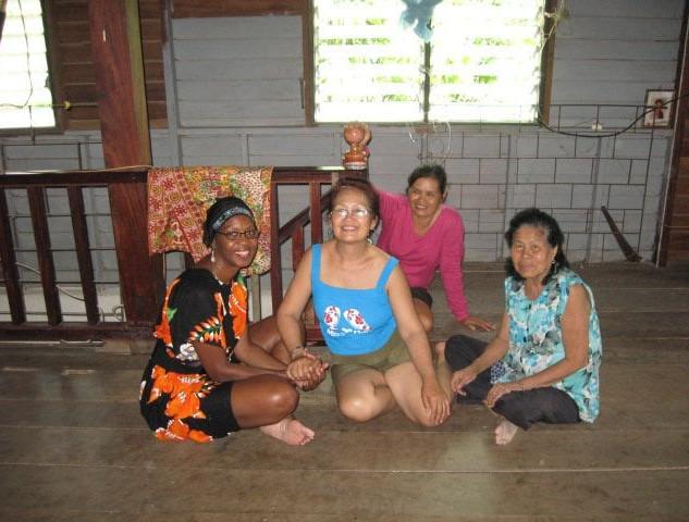 Assata with Thai family