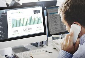 Customer Marketing Sales Dashboard Graph