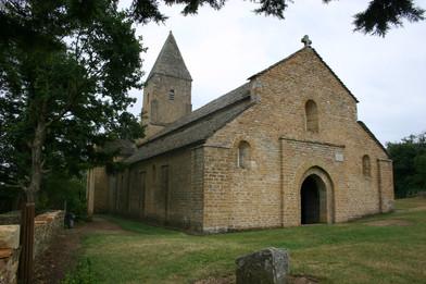 Eglise de Brancion