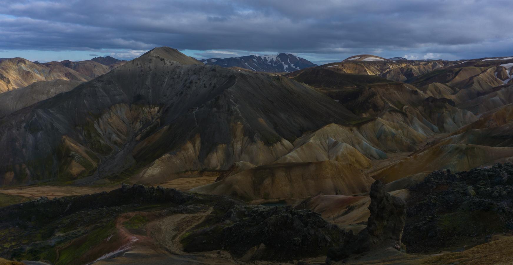 landmanalaugar montañas de colores