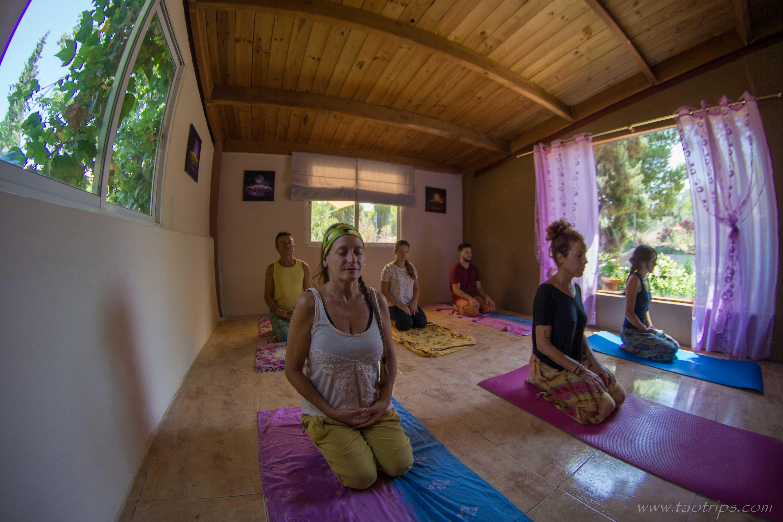 yoga y senderismo valencia