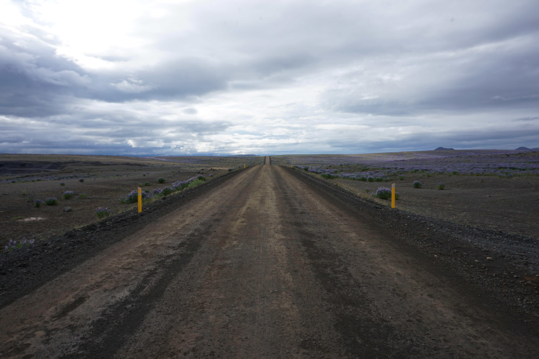 camino en islandia