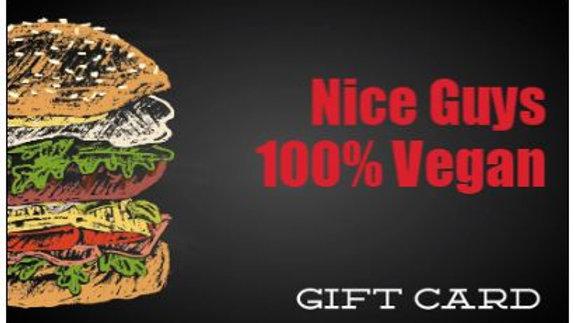 Nice Guys Gift Card ($200)