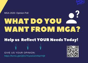 MGA2020 Opinion Poll Open