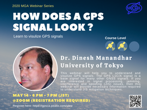 "Webinar Announcement: ""How does a GNSS Signal Look"""