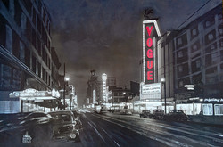 Neon Signs on Granville Street
