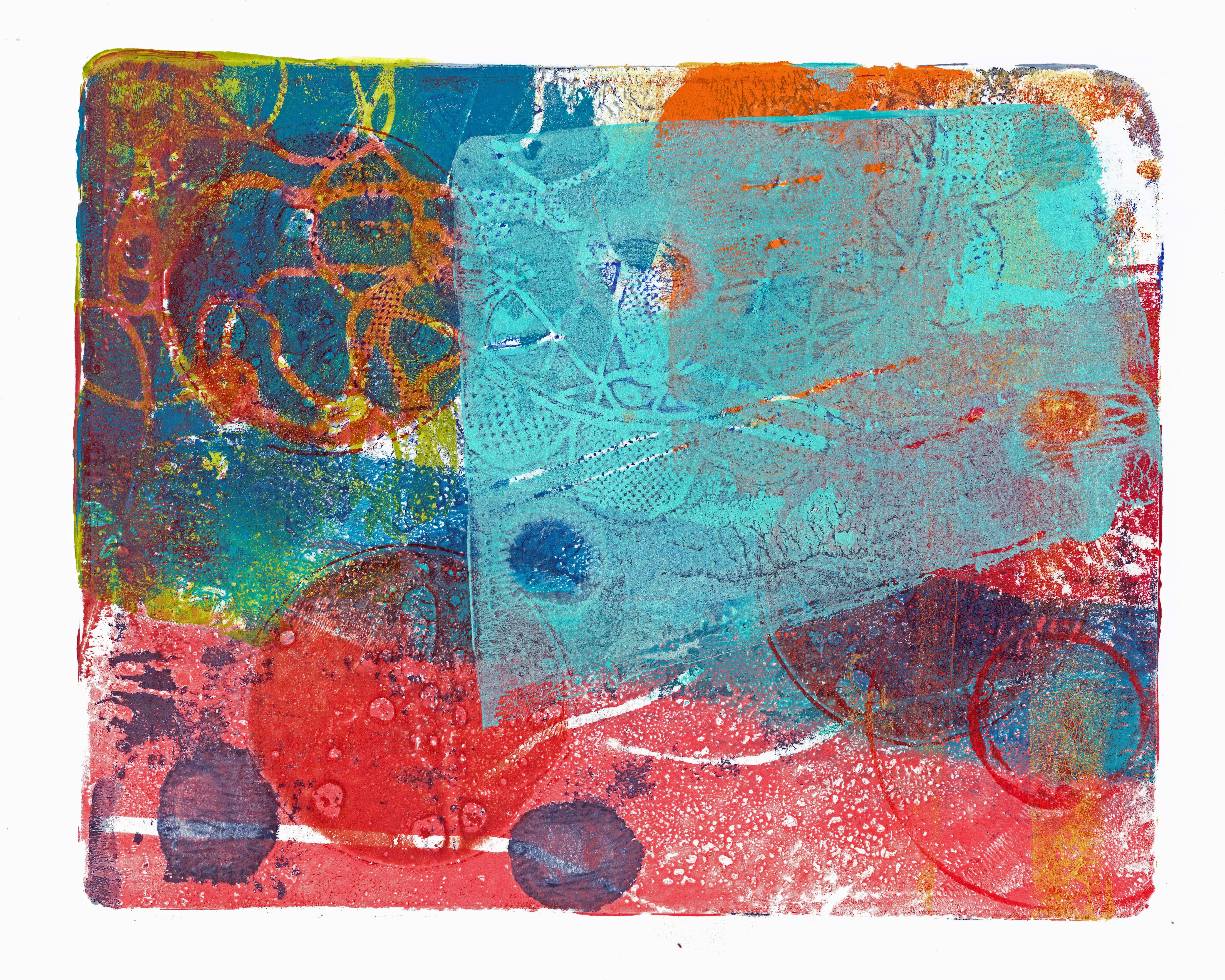 Acrylic Monoprint 4