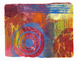 Acrylic Monoprint 1