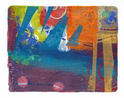 Acrylic Monoprint 3