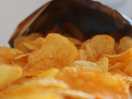 Snack de Chips Saudável