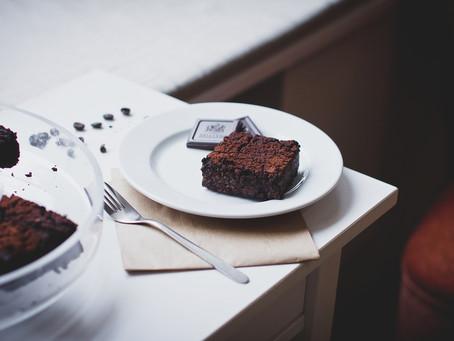 Receita de um brownie delicioso!