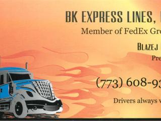 BK Express Lines, Inc.