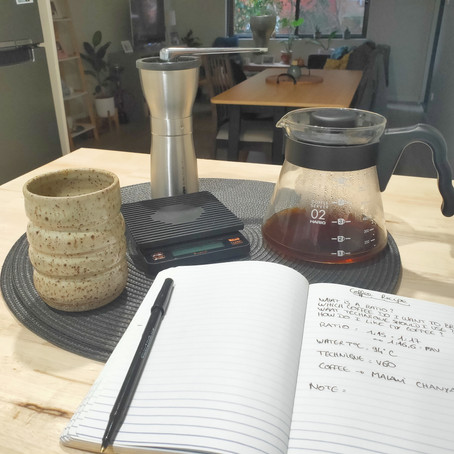 What is a Coffee recipe ?