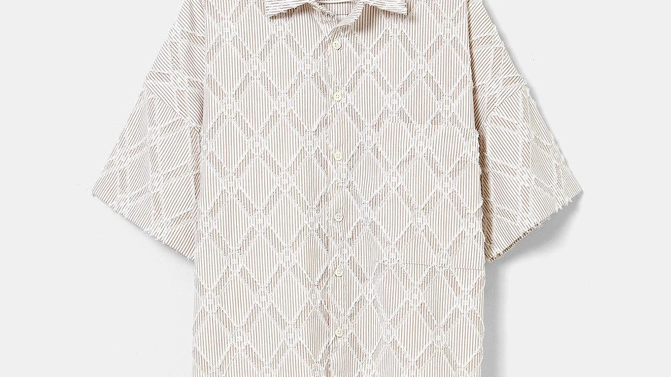 Oversized Half Shirt