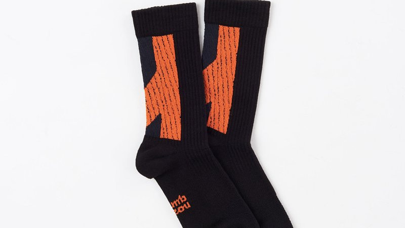 Dark Orange - LANDING R Socks