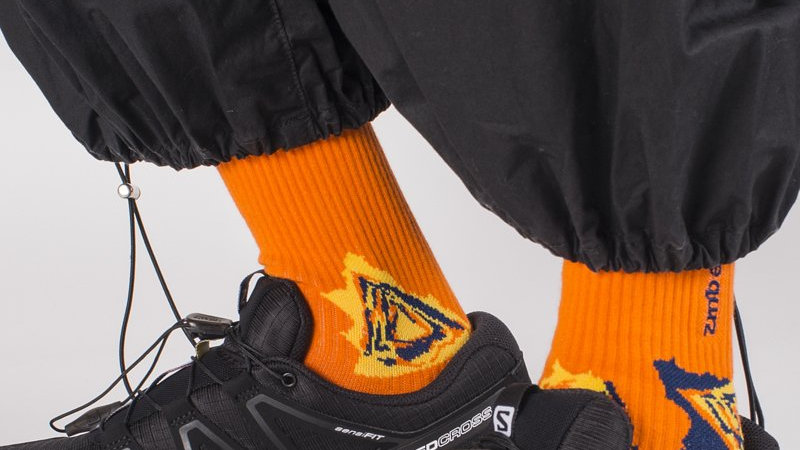 Fluor Orange - SPEED Socks