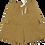 Thumbnail: Layered Baggy Zip Up Shorts