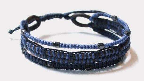 All One Men's Bracelet – Blue