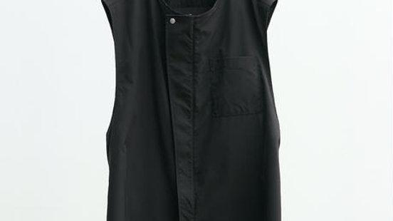 Solotex®✕Ecopet® Nocollar Fly Front Vest (Black)