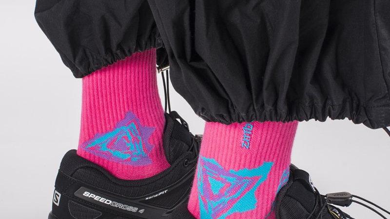 Fluor Pink- SPEED Socks