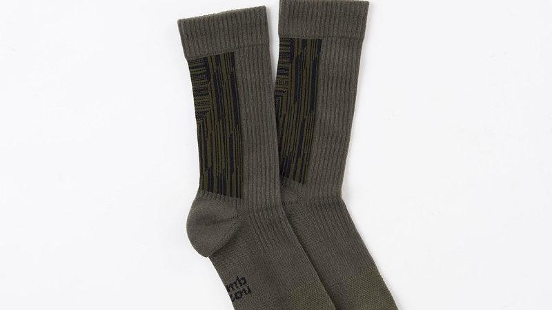 Olive Green - LANDING R Socks
