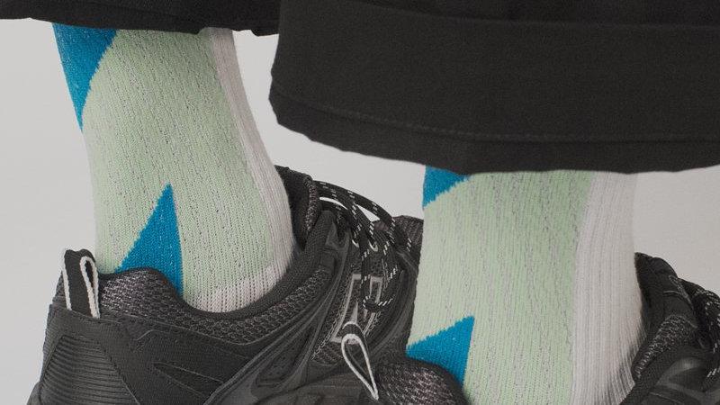 Teal Green-LANDING Socks