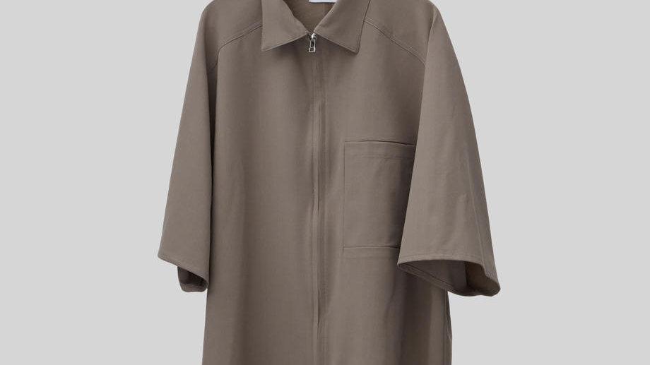 Half Sleeve Shirt (Greige)