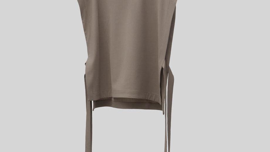 String Pullover Vest (Greige)