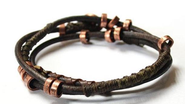 4 Elements Wrap Earth Bracelet