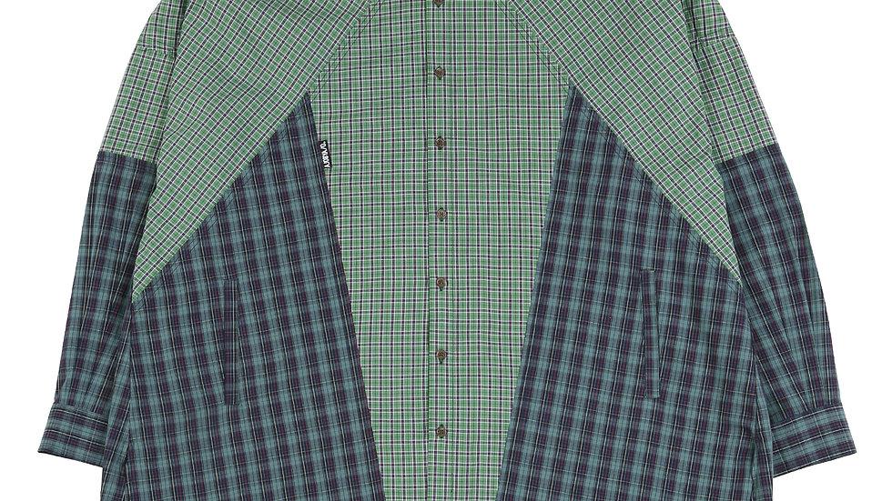Cross Mixed Check Shirt