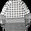 Thumbnail: Oversized Check Mixed Shirt (White)