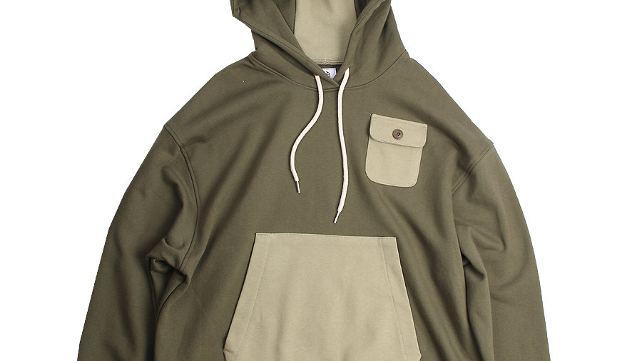 Pocket Sweat Parka