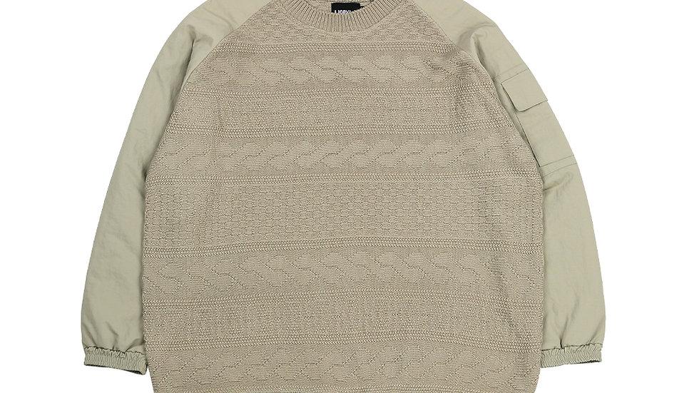 Oversized Bomber Sweater