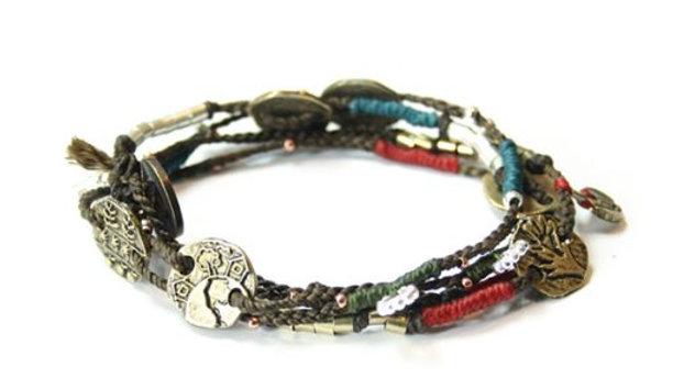 Wakami Dream Woven Wrap Bracelet