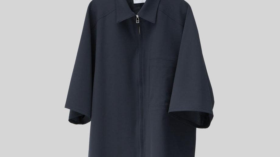 Half Sleeve Shirt (Navy)