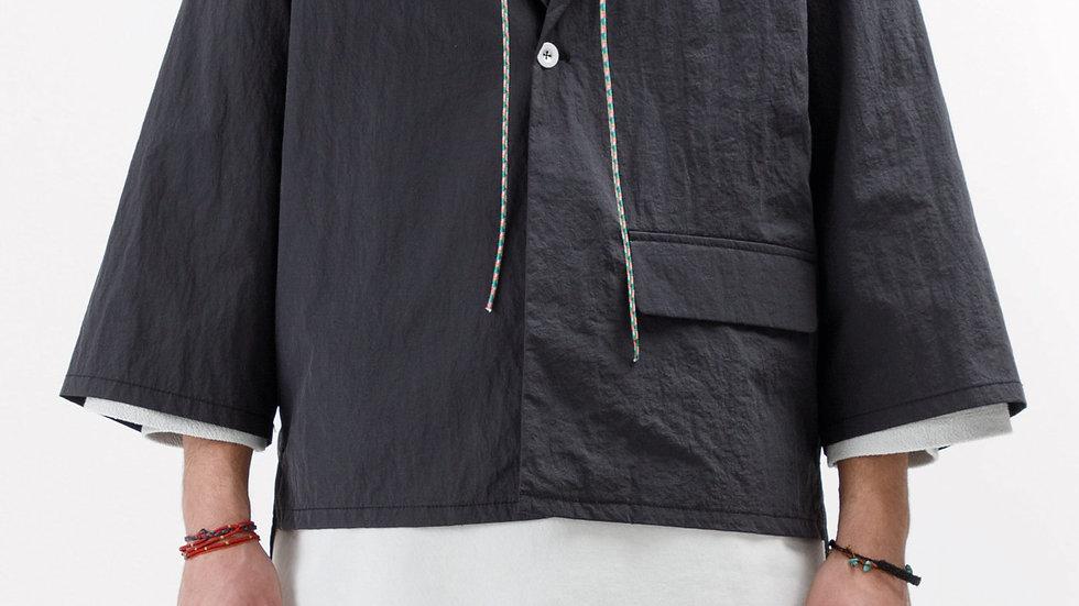 Black Stroller Cropped Jacket