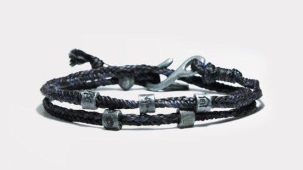 Wakami Dream Men´s Woven Bracelet Blue