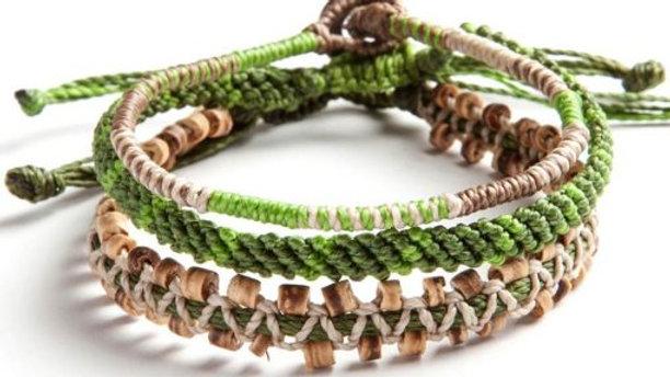 Adventure Outdoor Bracelet Set of 3