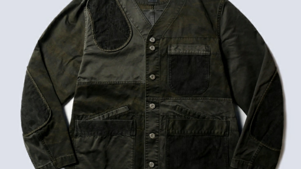 0931 MIX SHOOTER JACKET DARK WASHED