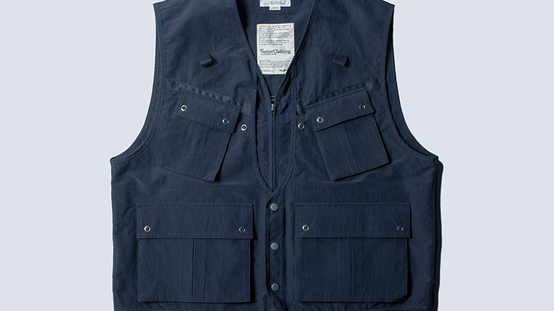 Battle Dress Fishing Vest Navy