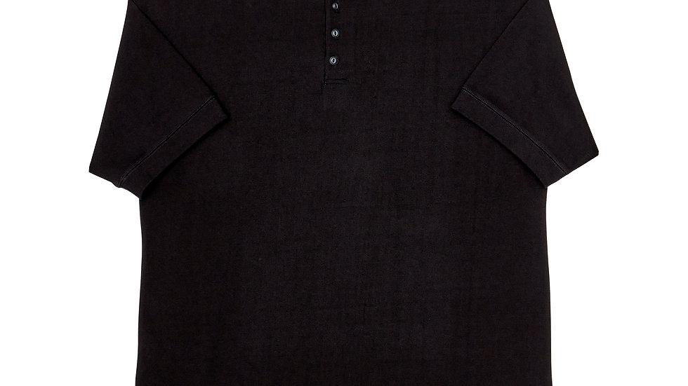 Overfit Henry Neck T-Shirt