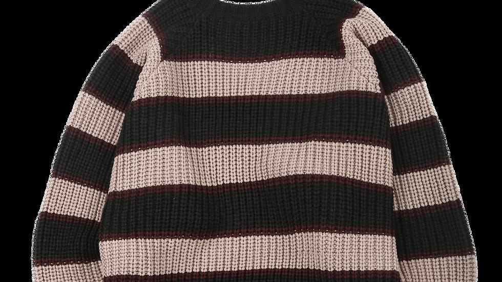 Oversized Stripe Sweater
