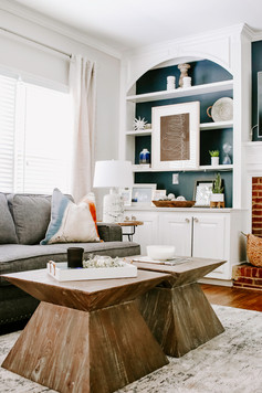 Kennesaw Living Room Finish Touches