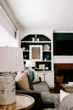 Kennesaw Living Room Finishing Touches