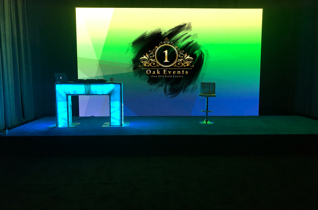 Staging and Video Wall