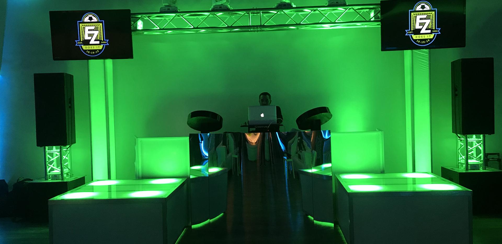Bar Mitzvah Set Up