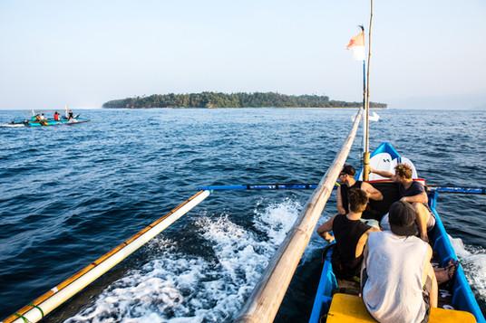 Ride to Banana Island