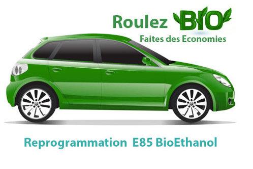 Reprogrammation  Véhicule E85 BioEthanol