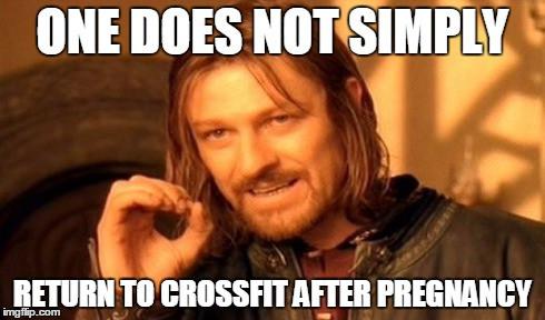 Será o Crossfit seguro no pós-parto?