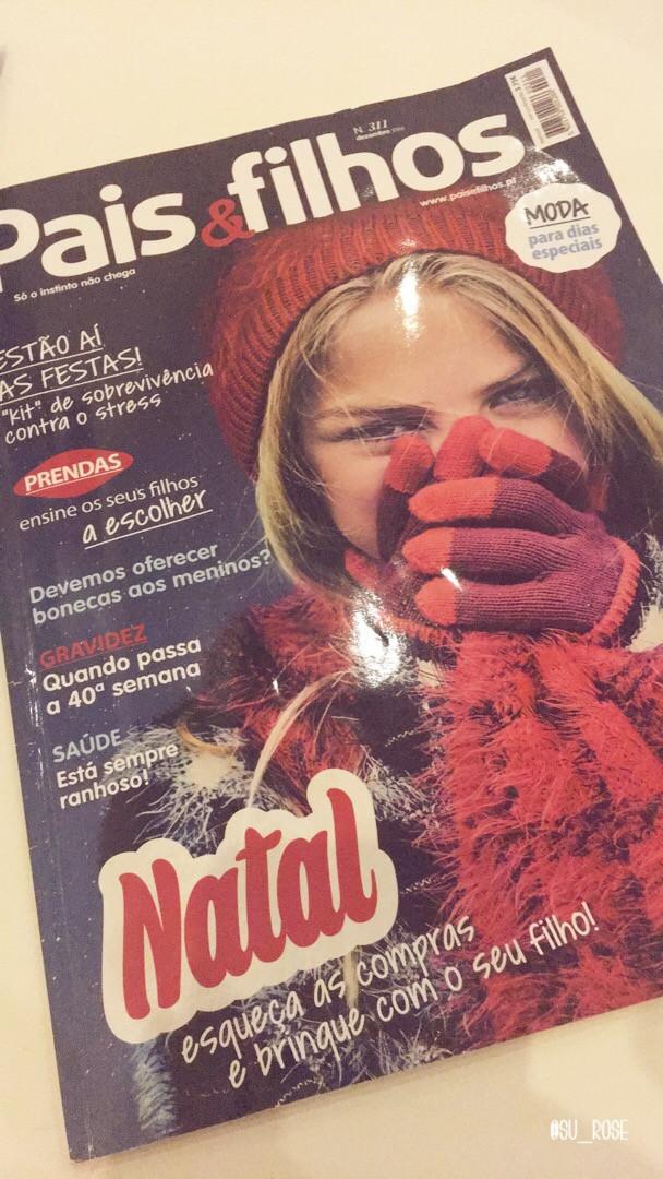 Artigo Revista Pais & Filhos (Dez 16) -  Reabilitação pélvica como norma no pós-parto? Pois sim,